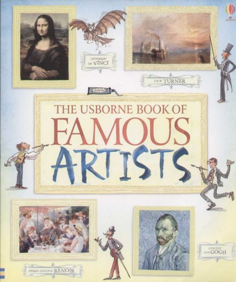 Rosie Dickins - Book of Famous Artists