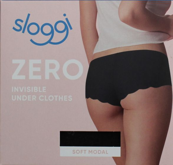 Sloggi zero short invisible under clothes soft modal sorte str. XS