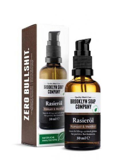 Brooklyn soap company rasieröl & menthol 50ml