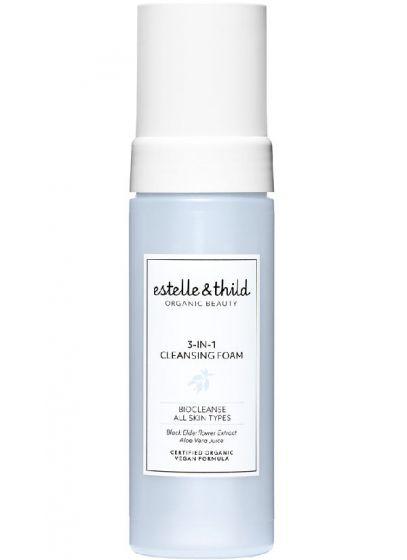 Estelle & thild organic beauty 3-in-1 cleansing foam 150ml