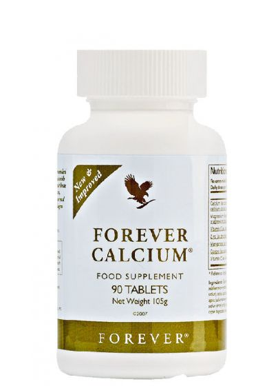 Forever calcium food supplement 90 tablets