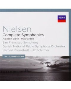 Cdbox Nielsen complete Symphonies, Aladdin suite maskarade