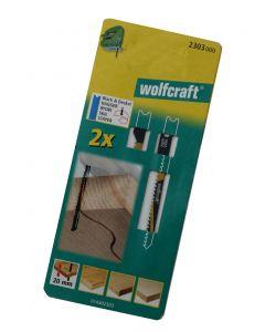 Stiksavsklinger 2 x HCS 70/50mm Wolfcraft 2303000