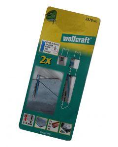 Stiksavsklinger 2 x HSS 70/52,5mm Wolfcraft 2376000