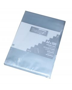 Plastik chartek Impega budget A4 Pk. á 100 stk transparent