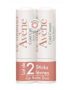 Pierre Fabre Avene Cold Cream Lip Balm 2pk