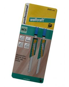 Stiksavsklinger 2 x HCS 61mm Wolfcraft 3541000