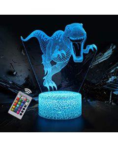 3D lamp illusion nice dream dinosaur