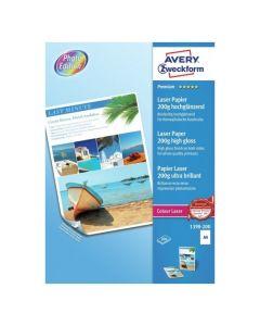 Avery 1398-200  A4 fotopapir 200g high gloss 200 ark