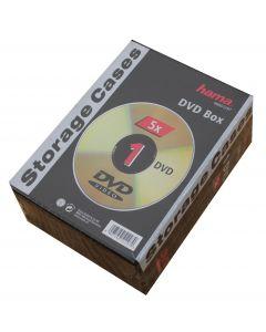 Hama Dvd box til 1 stk Dvd 5 pack