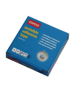 Staples Invisible Tape 19mm x 33m
