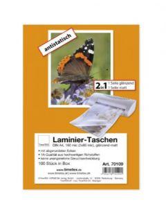 Timetex Laminier folie A5 2x80 mic glans 100 Stk