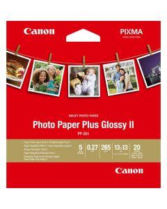 Canon PP-201 fotopapir 13 x 13 Plus glossy II 265 gram - 20 ark