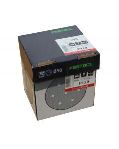 Festool granat slibeskiver P120 Ø90 100 stk