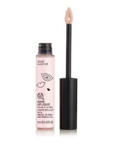 The Body Shop shine lip liquid glaze 001 8ml