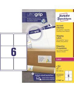 Avery L7166 Etiketter 99,1x 93,1 mm 600 stk