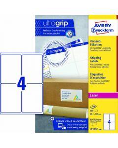 Avery L7169 Etiketter 99,1x 139 mm 400 stk