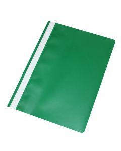 Tilbudsmapper Q Line A4 uden lomme ks. á 25 stk grøn