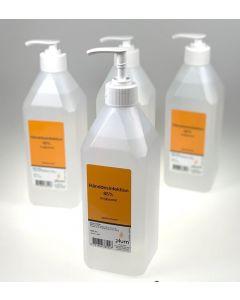 Plum håndsprit 85% flydende 600ml pumpeflaske
