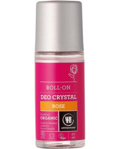 Urtekram Roll-on Deo Crystal Rose 50ml