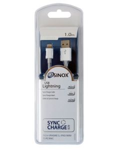 Sinox iMedia Lightning 1m til Iphone 5S + 6S