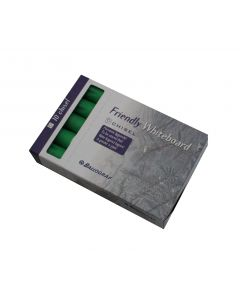 Friendly whiteboard penne chisel pk a 10 stk grøn