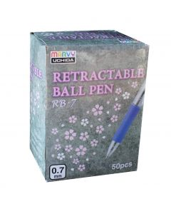 Uchida retractable ball pen rb-7 50 stk