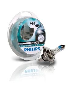 Philips H4 X-treme Version +100% forlygtepære