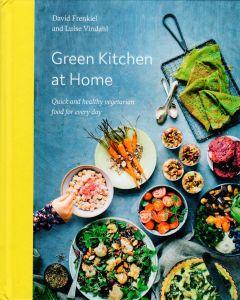 David Frenkiel - Green kitchen at home
