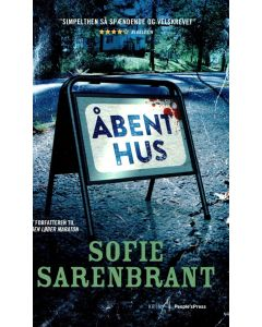Sofie Sarenbrant - Åbent hus