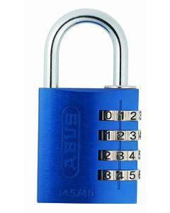 Abus hængelås mycode light 145/40 blå