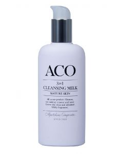 ACO 3 in 1 cleansing milk mature skin 200ml