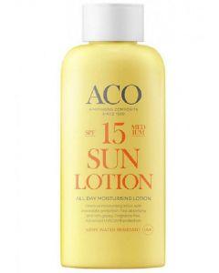 ACO sun lotion all day moisturising lotion SPF15 medium 200ml