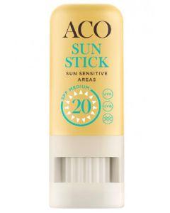 ACO sun stick SPF20 medium 8g