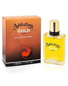 Addiction eau de toilette spray gold man 50ml