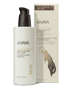 Ahava leave-on deadsea mud dermud intensive body lotion 250ml
