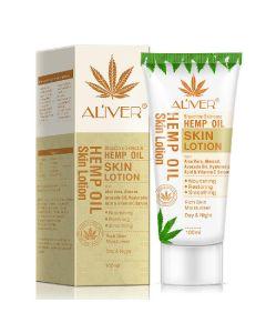 Aliver bioactive skincare hemp oil skin lotion 100ml
