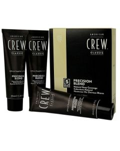 American crew precision blend natural gray coverage light blond 7-8 3x40ml