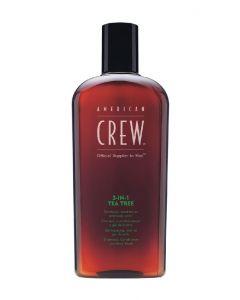 American crew to men 3-in-1 tea tree 450ml