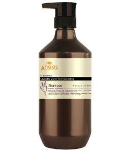 Angel for blonde hair lavender violet tone correcting shampoo 800ml