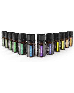 Anjou 100% pure essentials oils 12 flasker