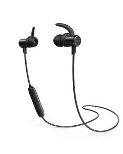 Anker soundbuds slim bluetooth in-ear phones A3235011 black