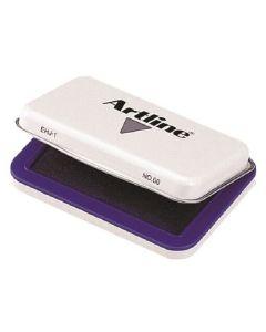 Artline stamp pad size format nr. 00 EHJ-1 violet