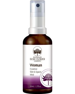 Australian bush flower essences woman essence skin & space mist 50ml