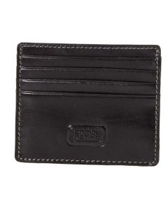 Camel Active Mongolia leather creditkort holder black