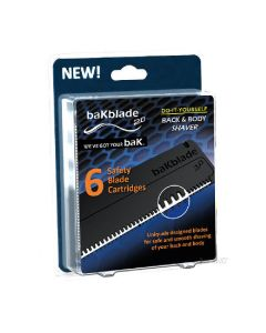Bakblade 6 pak safety blade cartridges