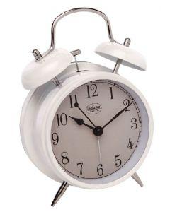 Balance classic quartz alarm clock hvid