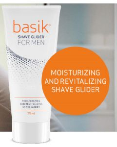 Basik shave glider for men moisturizing and revitalizing shave glider 75ml