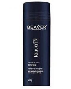 Beaver professional system keratin hair building fibers black 28g