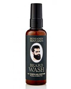 Benjamin bernard's beard wash 2 in 1 shampoo and conditioner 100ml
